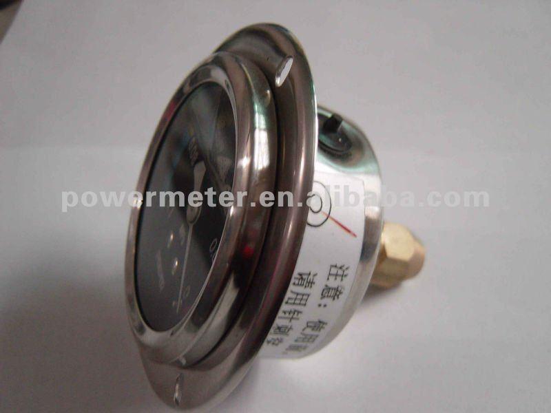 الملونة الطلبأسلوب النفط تملأ مقياس الضغط مع شفة