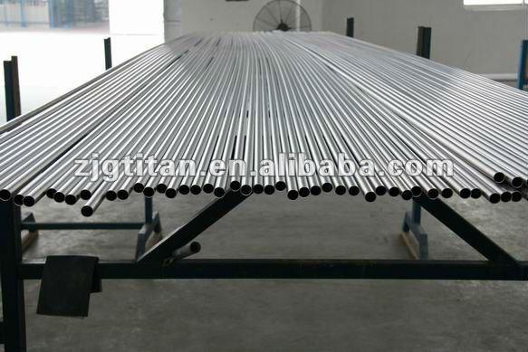 Titanium Tube ASTM B861/ASME SB861, ASTM B338/ASME SB338