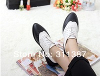 Женские оксфорды/drop shipping girls fashion flats for women Oxfords shoes woman casual Lady 2013 spring news lace up SXX02563
