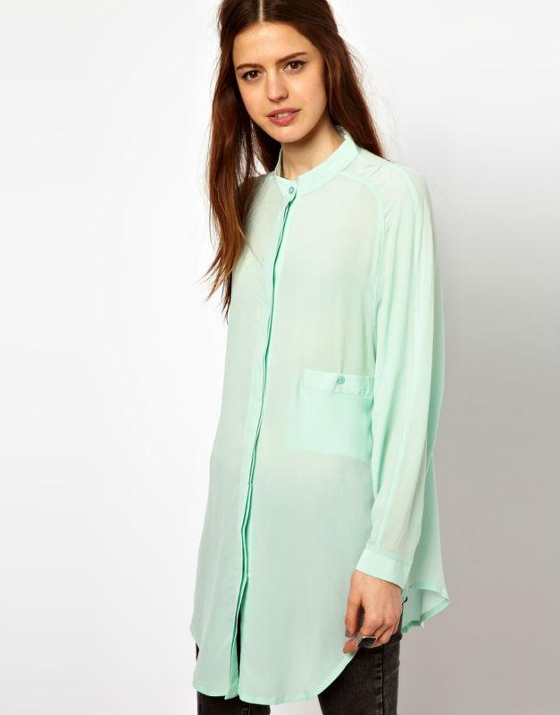 los modelos st115 de tela de moda blusas 2013 blusas de gasa