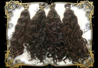 "Волосы для наращивания 12""14""16""18""20""22""24""26""Brazilian Virgin Hair #10 Body wavy Weft machine Human Hair 100g"