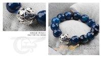 Ювелирное изделие Natural claretred beauty garnet bracelet radiation-resistant lovers crystal female