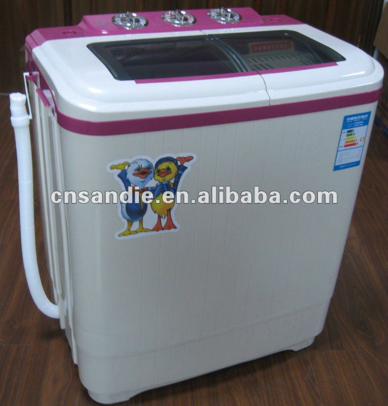 3.5kg semi-auto twin tub portable washing machine