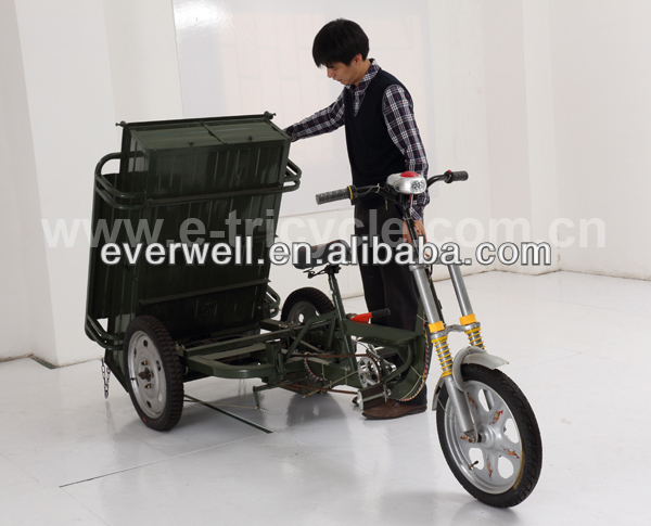 pedal cargo tricycle for man ETC-P01