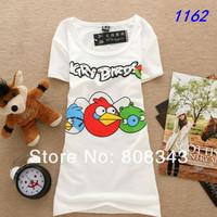 Free Shipping 2013 Fashion Good Quality Cotton T Shirt Women Tops T-shirts Short Sleeve,Sexy Girl.