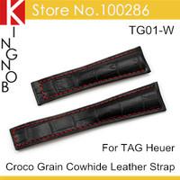 Ремешок для часов 22 Croco band TG01-W