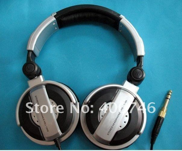 Free shipping hot selling metal headphone dj earphone 1pcs with retail box