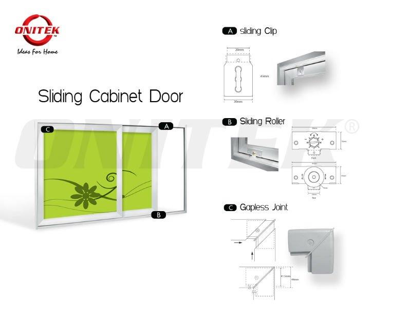 Onitek Bi-Fold Door,Bi-Fold Door,Kitchen Cabinet,Acp panel Cabinet,Luxury aluminium cabinet,Cabinet with ventilation panel