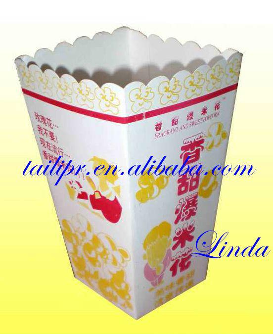 Plain Popcorn Popcorn Boxes/plain