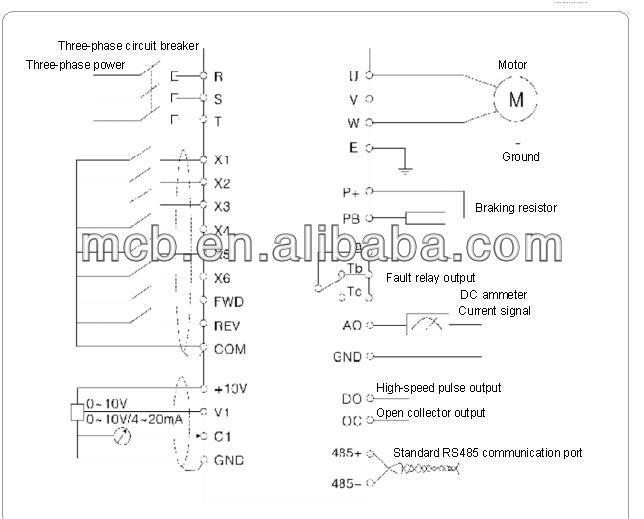opv8m2s miniature sensor-less vector type lenze 8200 ... lenze wiring diagram
