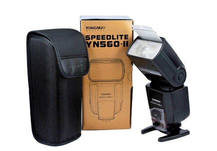 Yongnuo YN560-II YN560 II YN560II Flash Speedlite 550D 1000D 500D 450D 5D II 1D 7D 50D 40D 30D