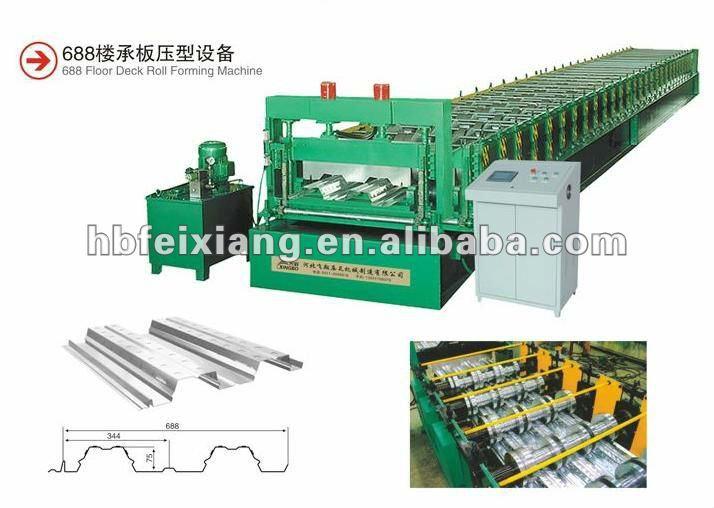 688 floor decking roll forming machine