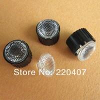 50шт / много + высокой мощности светодиод оптический объектив с кронштейн держатель для 1Вт 3w светодиоды лампы конденсации объектив 120 градусов