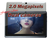 Планшетный ПК 2013 dual camera tablet 7 inch 5 point Capacitive Screen 1.5GHZ 1GB*20GB flash WIFI android Tablet PC $5 gift W38