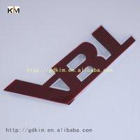 ABT good quality chrome ABS plastic car badges