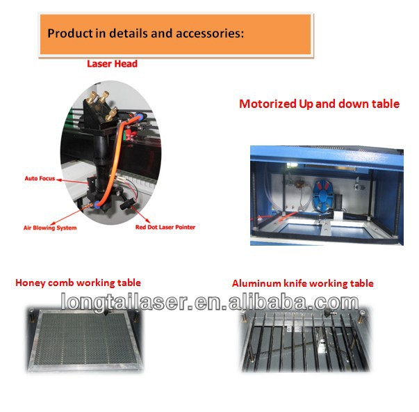 top sale acrylic/wood/MDF 100W laser engraving machine price
