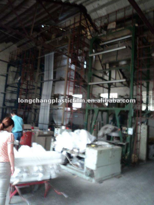 Blue packing LDPE plastic Film with waterproof