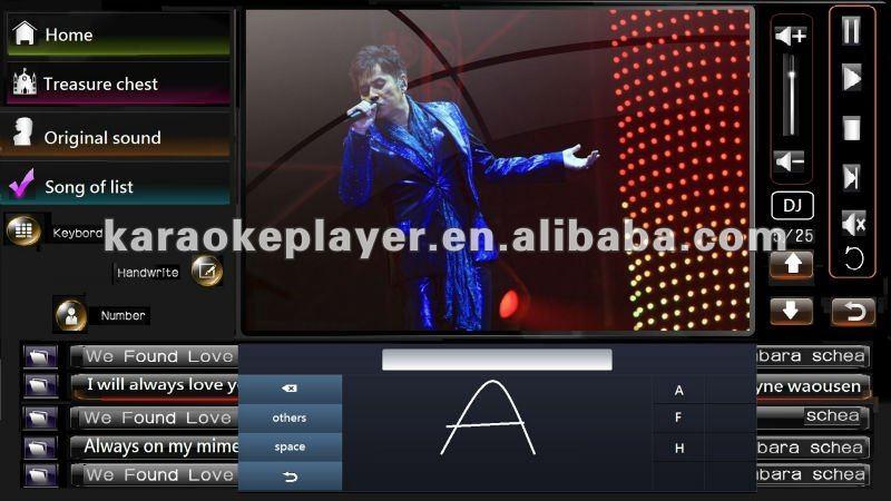 KV-800K high-end mp3 karaoke software