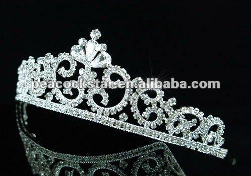 Estilo Rainha De Cristal Tiara nupcial Do Casamento Do Vintage CT1403