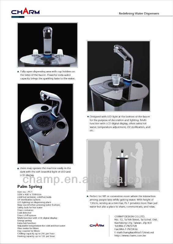 PS1 FREE standing RO/Soda Water Dispenser Taiwan Manufacturing OEM/ODM
