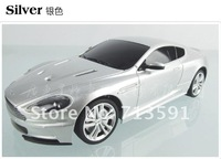 Машина на радиоуправление Aston Martin! Super cool 1:24 remote control car RC car Silver Black Aston Martin bat good for gift