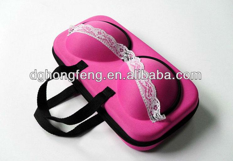 latest new style unique EVA bra bag bra case for traveling travel bra case
