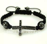 Promotion Cheapest Price Cross Shamballa bracelet Wholesale