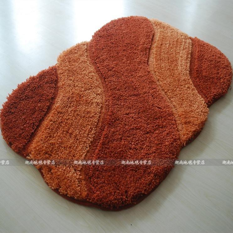 100 acrylic bathroom rug toilet lid set bath mats 4 piece bath rug set non slip back - Wat kleur aan een badkamer ...