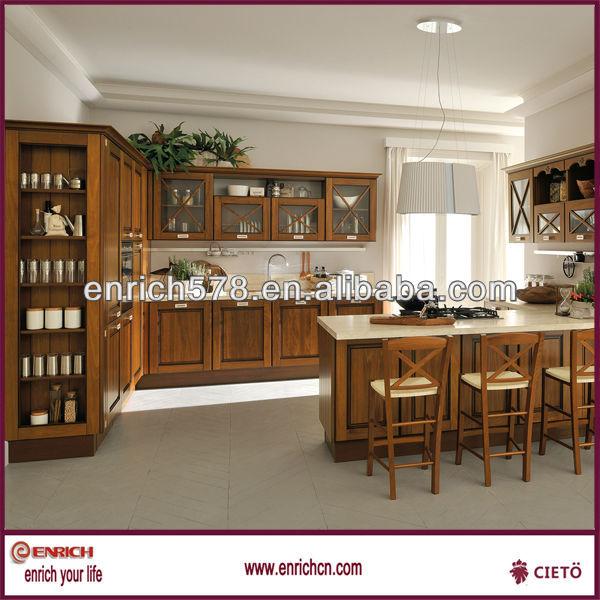 Kitchen Cabinet With Wine Rack Pine Ebony Cherry Bitch Door View
