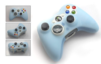 Потребительская электроника Games Controler Silicone Cases Protector Skin Covers For Xbox 360
