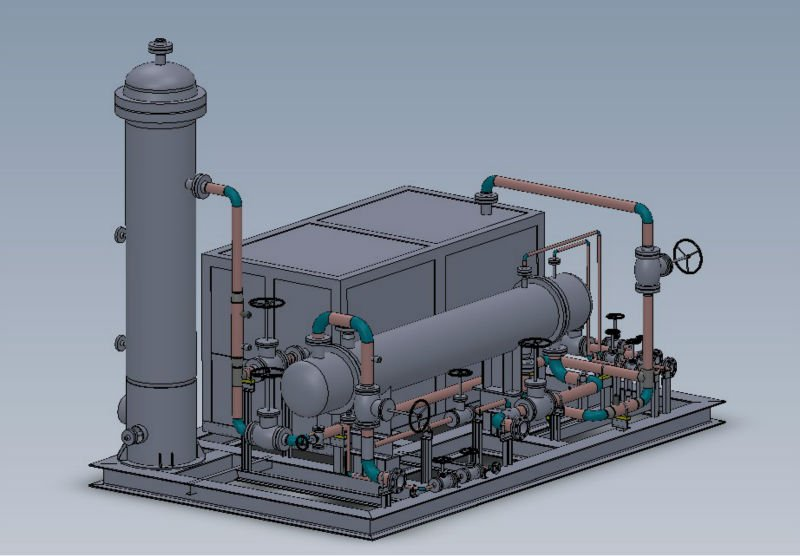 Small Scale LNG system