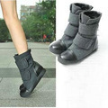Женские ботинки NEW 2013 suede FanMao increased within the knight boots women boots winter snow boots Yh-y11