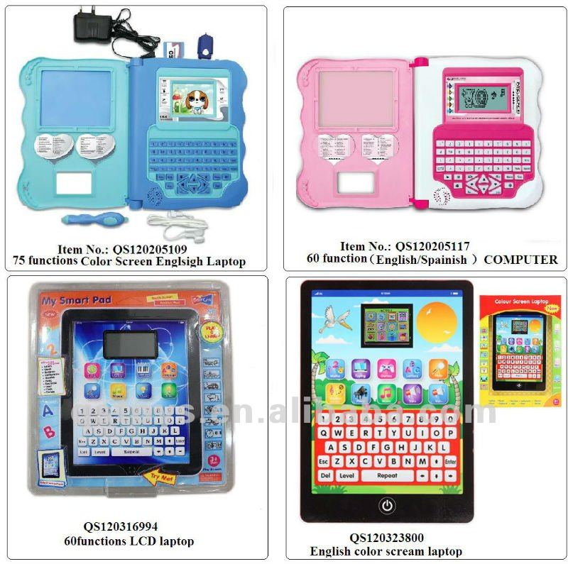 ipad learning machine touch screen laptop,computer toys for kids QS120316995