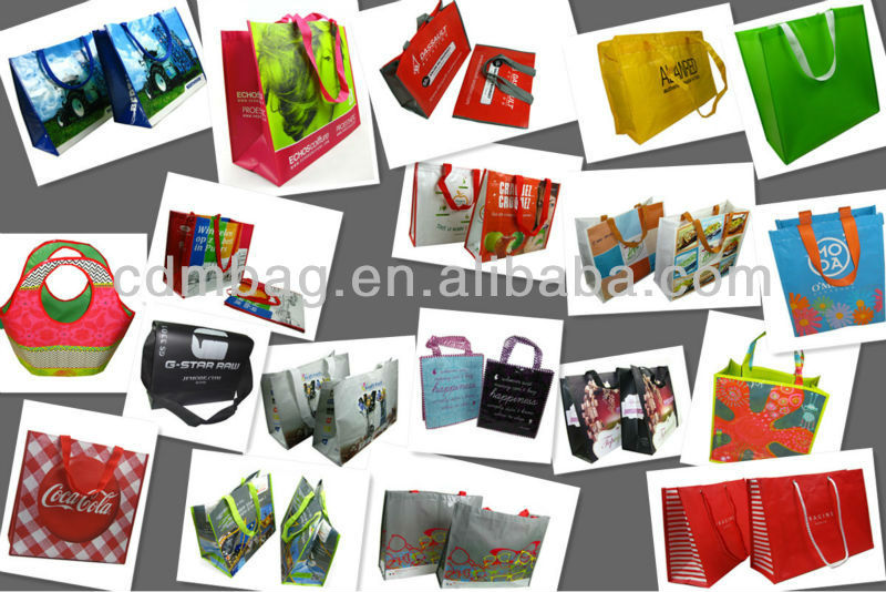 Fashionable Ecological promotional foldable shopping bag
