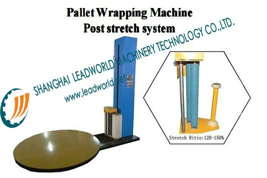 New style auto pallet wrapping machine