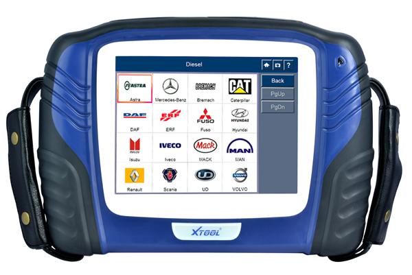 Xtool PS2 mini-bus diagnostic tool