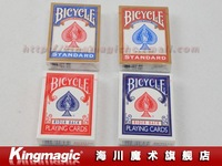 Игрушка для фокусов 5pcs/lot Bicycle Playing Cards/color: blue or red/magic tricks/magic props/ by CPAM