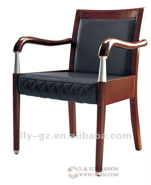 Cadre en bois de haute qualit bureau chaises sans roues - Roue de chaise de bureau ...