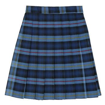Plaid School Skirt