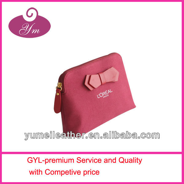 NEW finished high quality professional cotton make up bag