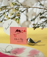 Держатель для визиток 5 off per $50! 2012 hot sale/Table card Holder for Wedding Party, Anniversaries Party, Love birdWhalesale, retail