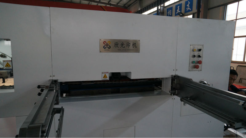 XMB-1300 Semi automatic manual die cutting and creasing machine