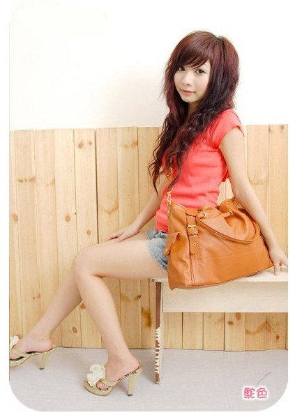 New Hot 2012 free shipping leather bags women street fashion design classic handbag england women messenger bag