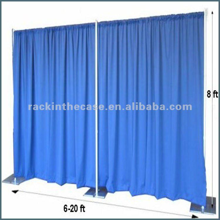 Moda 2012 tuber a y cortinas para al aire libre de stand for Bases para colgar cortinas