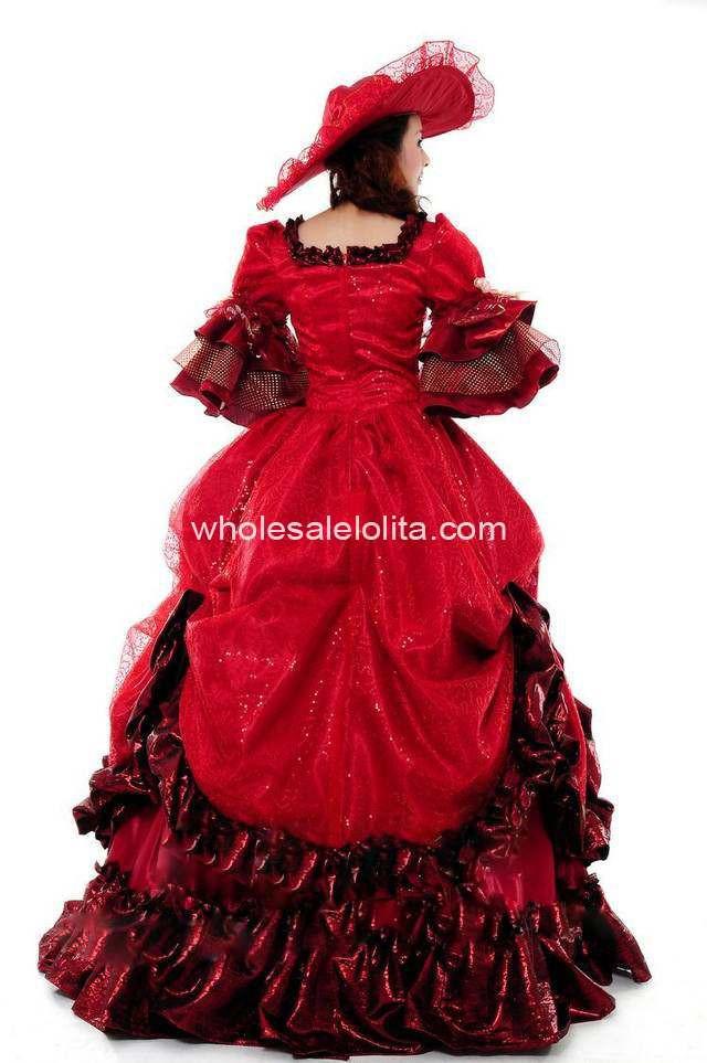 فستان زفاف أحمر  1036856903_150