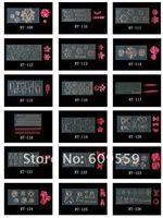 Шаблоны для дизайна ногтей Nail beauty 20pcs/lot! + 3D nail art /& no.12082701