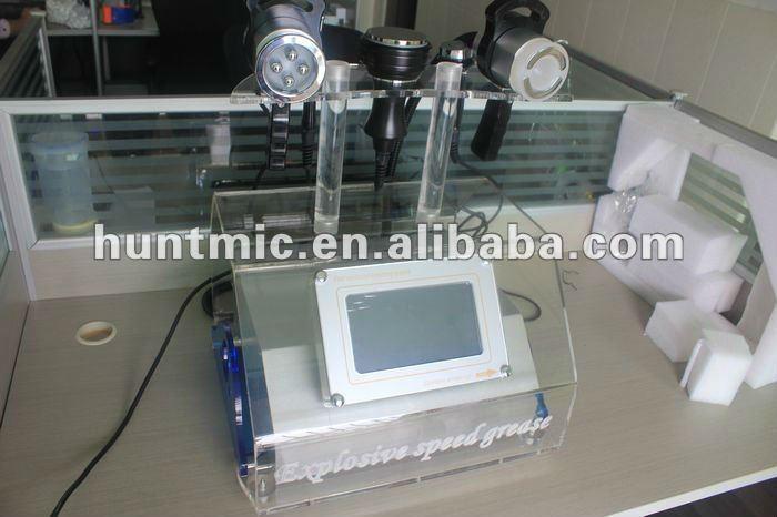 Equipo Ultra-cavitacion + Rf(facial Y Corporal)+vacum+bio Vacuum Bipolar RF cosmetics equipment