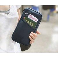 Сумка на талию Travel Passport Credit ID Card Cash Holder Organizer Wallet Purse Case Bag Pouch[010411