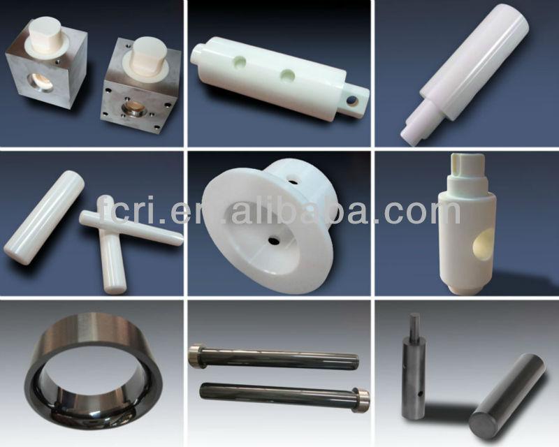 Zirconia/ ZrO2/ TZP ceramic plunger