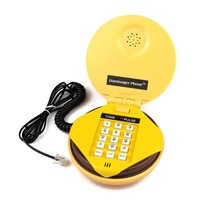 Голосовой телефон Juno Hamburger Cheeseburger Burger Phone Telephone #1413